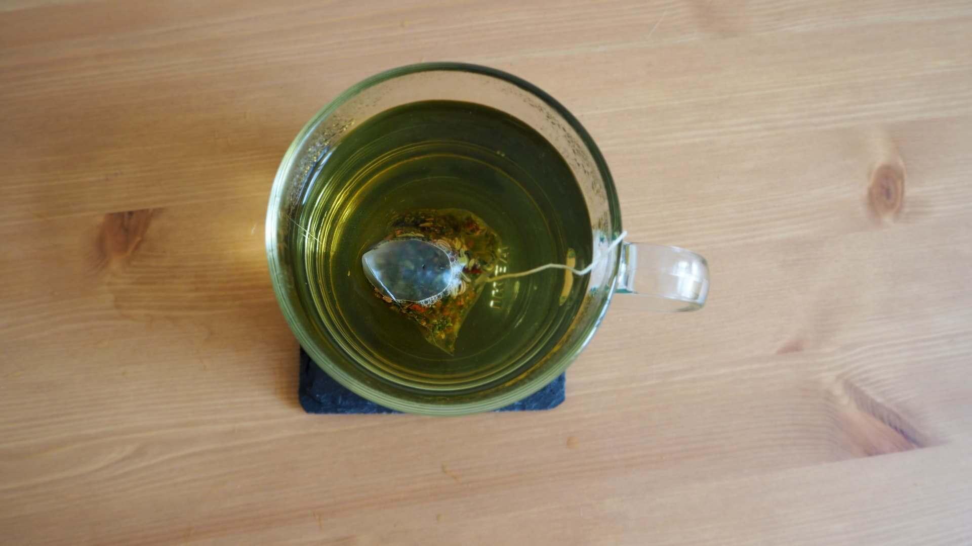 Einschlafhilfe - Tee in der Tasse