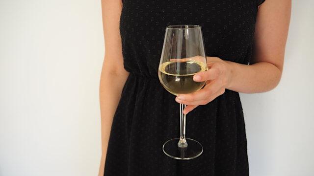 Alkohol - Wein im Glas