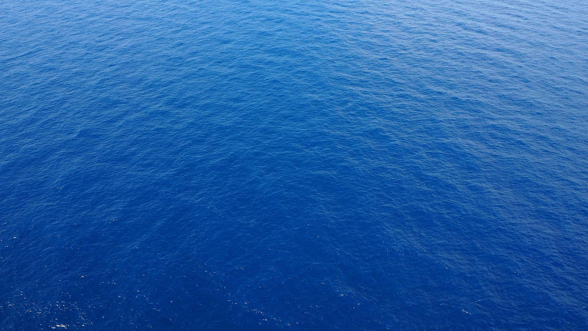 Achtsamkeit - Ruhiges, blaues Meer