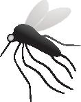 Mücke im Schlafzimmer